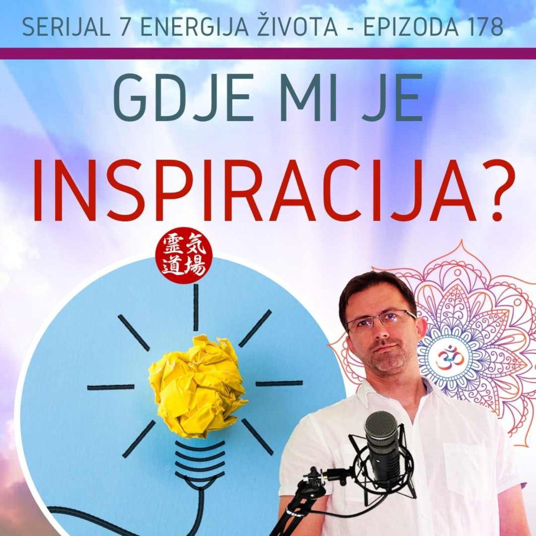 178: Gdje mi je inspiracija?