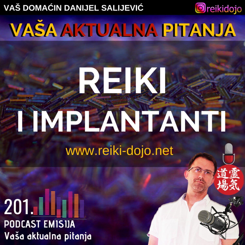 201: Reiki i implantanti - VAP 1 - Em201