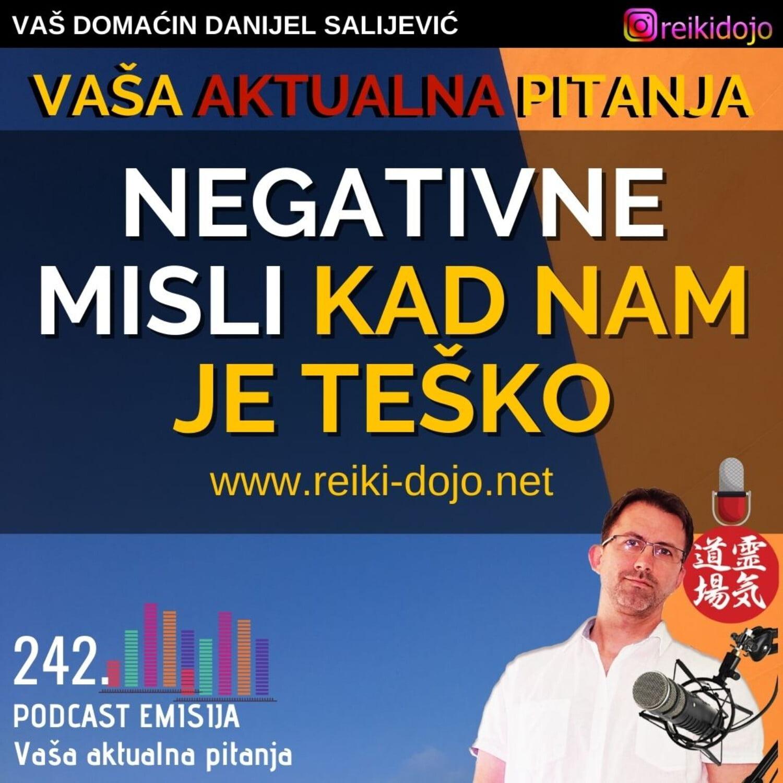 Negativne misli kad nam je teško Vap16 - Ep242